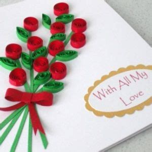 How To Make Paper Flowers For Greeting Cards - greeting cards card ideas