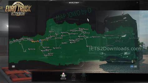 map jowo  indonesian map  ets  ets  mods etsdownloads