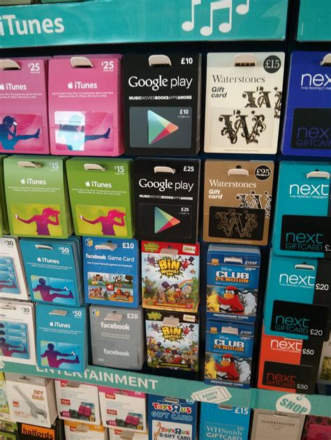 Play Store Voucher Play Gift Vouchers Now Available In Tesco Uk