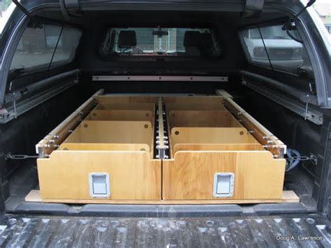 truck bed drawers plans sleeping platform documented build of the sleeping