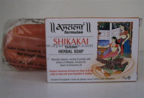 Ancient Countries That Used Detox by Ancient Formulae Shikakai Enriched Herbal Soap 75 Gm