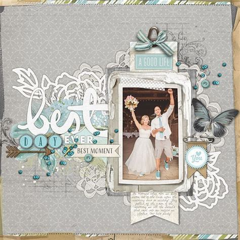 Scrapbooking Wedding Invitation Ideas by Wedding Scrapbooking Layouts Www Imgkid The Image