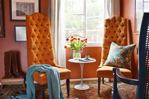 orange and blue home decor how to decorate your home with orange photos