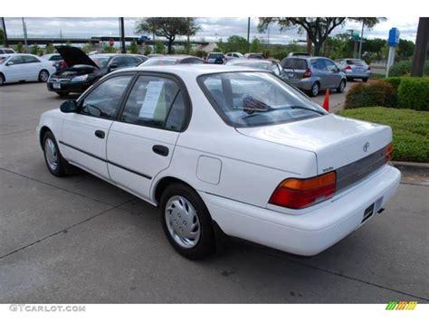 Toyota Corolla 1993 Toyota Corolla Cars 1993