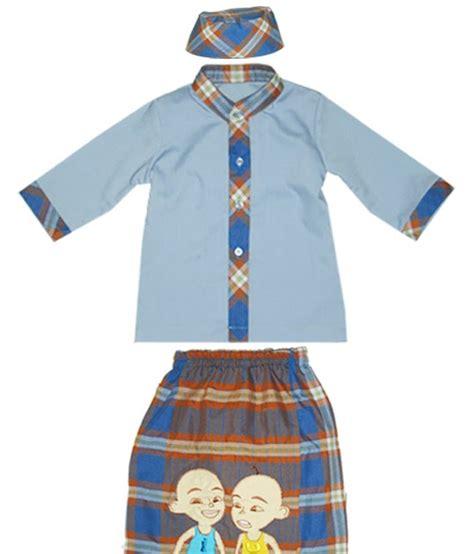 Koko Set Bordir Nama sarung mukena anak set koko sarung celana peci dan gambar aplikasi