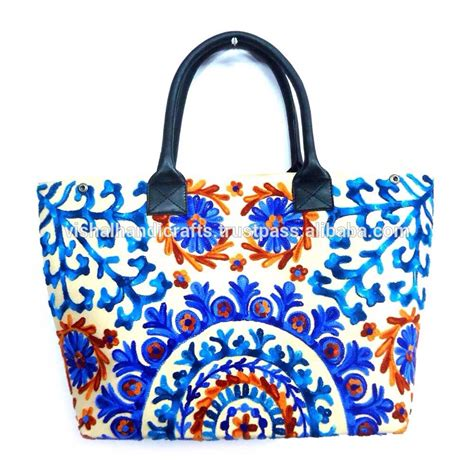 handmade designer bags suzani bags wholesale indian bags