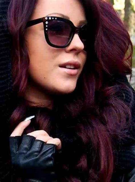 hair with purple tint dark hair purple tint love this beauty pinterest