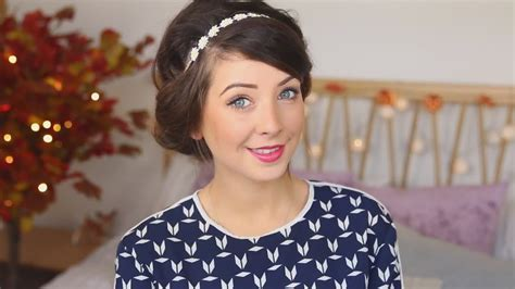 really easy hairstyles zoella quick easy hair styles zoella translatedup rus sub