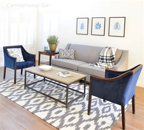 grey and navy living room living room navy gray house decorators collection