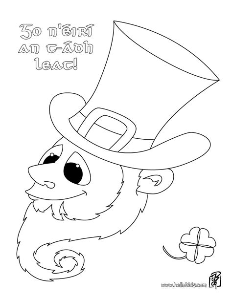 coloring pages luck luck coloring pages hellokids