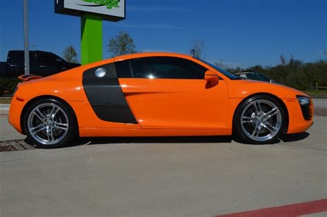 Audi R8 Cars For Sale by 2010 Glut Orange Audi R8 Cars For Sale Blograre