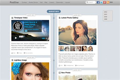 theme wordpress like facebook best wordpress responsive themes of 2013