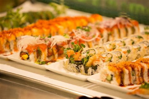 makino sushi seafood buffet experience authentic