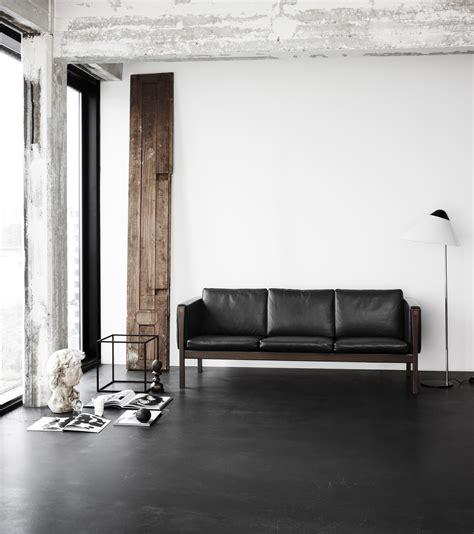 hans wegner sofa ch163 carl hansen sofas ch162 and ch163