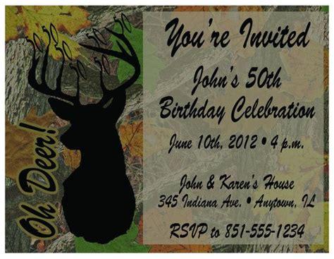 free printable hunting stationary tree camo deer hunting printable birthday invitations