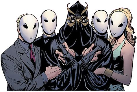 the hand vs the league of assassin vs the court of owls