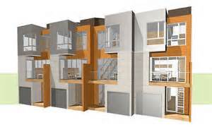 Multiplex Housing Plans Small design floor plans duplex multi family low income housing apartments