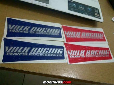 Jual Stiker Velg Oz Racing Kaskus jdm garage sticker velg jdm ce28 te38 ssr enkei