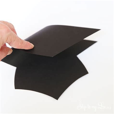 How To Make A Graduation Hat Out Of Paper - graduation cap gift card holder skip to my lou