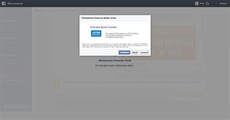 membuat iklan fb gratis cara membuat iklan di facebook dengan pembayaran bank transfer