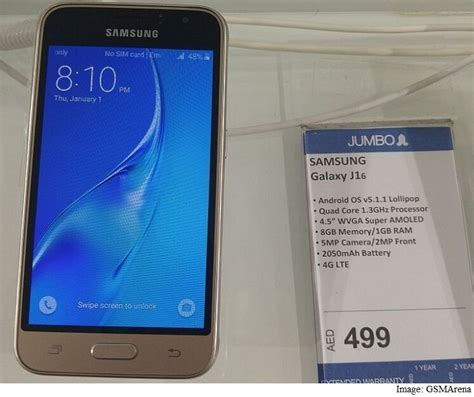 Samsung J1 Supercopy Samsung Galaxy J1 2016 With Amoled Display