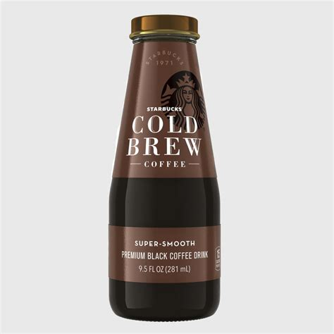 Starbucks Bottled Cold Brew Coffee   POPSUGAR Food