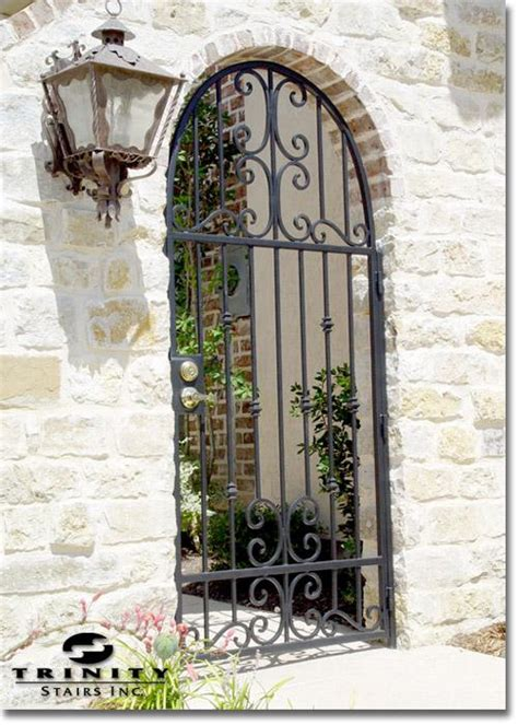 Iron Gate Front Door Iron Exterior Gates For Your Home Stairs