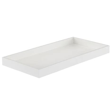 changing table topper white  land  nod