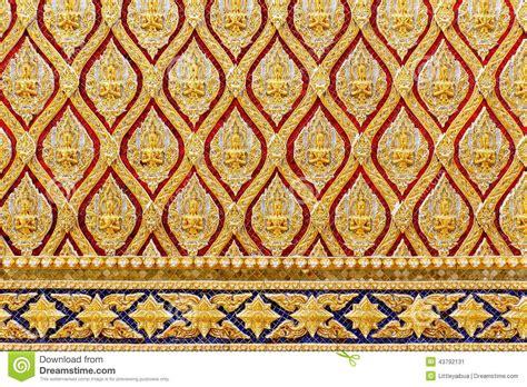 thai design gold thai art design stock photo image 43792131