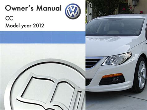 Volkswagen Cc Owners Manual by 2012 Volkswagen Cc Owners Manual In Pdf