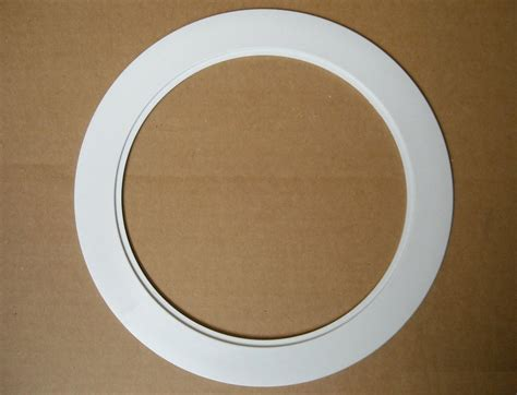 6 quot inch recessed ceiling can light over size plastic trim