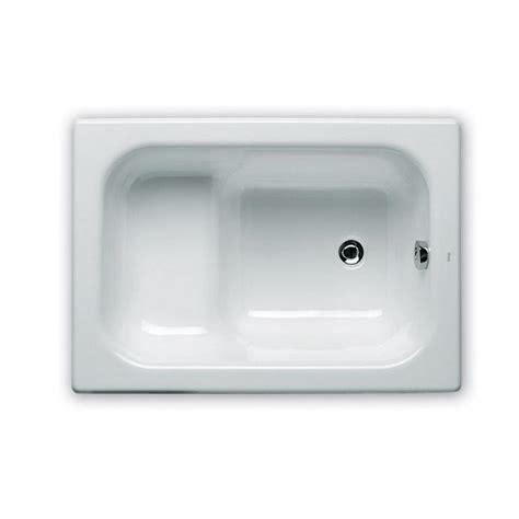baignoire nue rectangulaire sabot en fonte banaseo 100x70