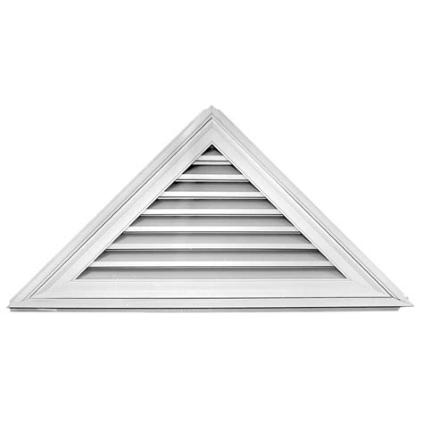 builders edge 12 12 52 in x 26 in triangle gable vent