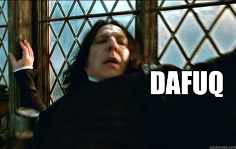 Dafuq Meme Face - dafuq watched super bass by nicki minaj snape dafuq