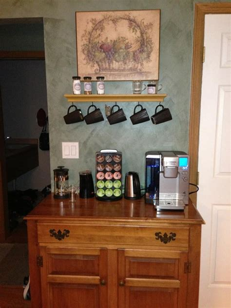 Coffee Hutch Pin By Donna Musselwhite On Coffee Stations Ideas