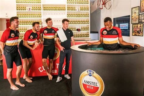 bathtub pub amstel s ice bath pub offers cold therapy treatment to active cyclists