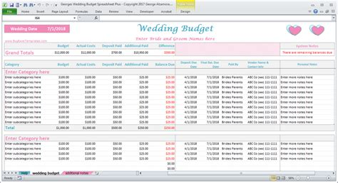 Wedding Costs Calculator Excel Wedding Expenses Worksheet Printable Buyexceltemplates Com Wedding Cost Spreadsheet Template