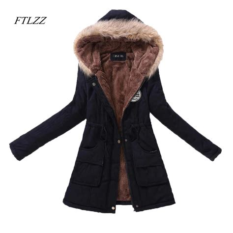 Jaket Parka Wanita Jaket Tebal Jaket Musim Dingin Atasan Wanita 3 jaket musim dingin wanita beli murah jaket musim dingin