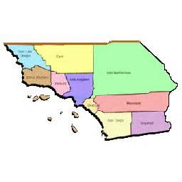counties in southern california map cal voad socal voad