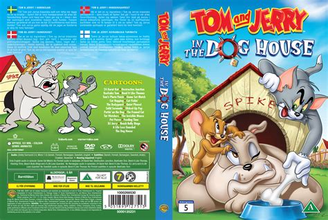the dog house tom and jerry tom and jerry in the dog house 2012 cartoon dvd front dvd cover
