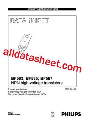 Mpsa42 Philips Nos bf583 datasheet pdf nxp semiconductors