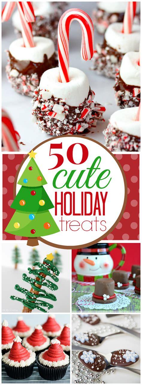 15 cutest holiday treats on pinterest holiday treat 50 cute christmas treat ideas www somethingswanky com