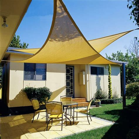 shade sails awnings canopies deluxe uv top sun shade sail uv top outdoor canopy patio