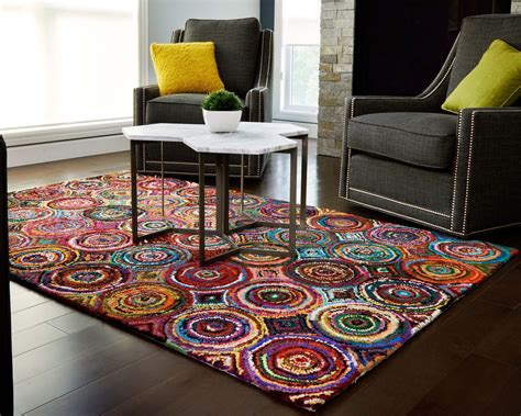 colorful area rug living room amazing living room decorating ideas area