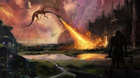 film fantasy nuovi fotos von der hobbit drache krieger fantasy film feuer