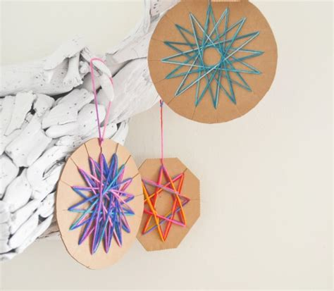 cardboard yarn ornaments tauni co