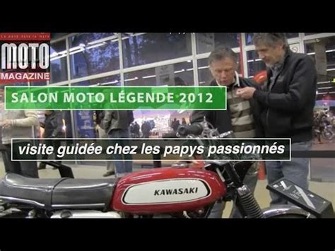 salon moto l 233 gende 2012 visite guid 233 e chez les papys passionn 233 s