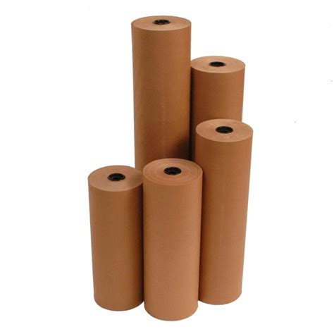 Brown Craft Paper Rolls - brown kraft roll 750mm wide wrapping paper