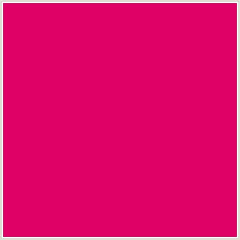 pink color code de0064 hex color rgb 222 0 100 pink fuchsia