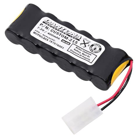 Battery Untuk Lu Emergency ultralast green dantona 7 2 volt 400 mah ni cd battery for